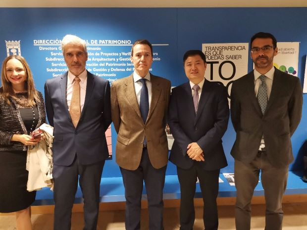 Secretary-General of the BNRSC Invited to Visit Madrid Series II